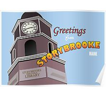 Once Upon a Time - Greetings from Storybrooke Poster