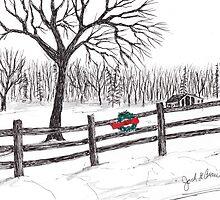 Seasons Wreath by Jack G Brauer