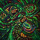 Jungle (in UV light) by VicCollider
