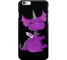 The Asexuality Blog - Unidragon Mascot Logo iPhone Case/Skin
