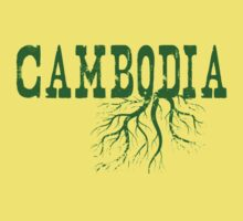 Cambodia Roots One Piece - Short Sleeve