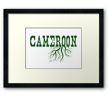 Cameroon Roots Framed Print