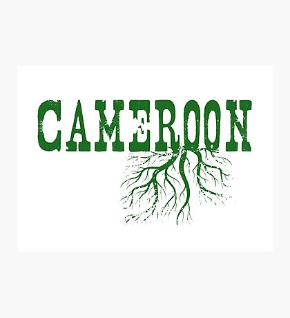 Cameroon Roots Photographic Print