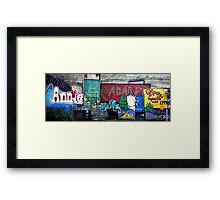 Broadway in the Alley Framed Print