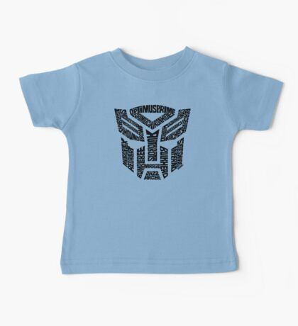 Transformers Autobots Baby Tee