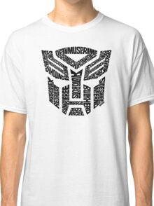 Transformers Autobots Classic T-Shirt