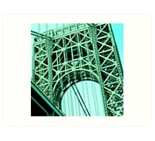 George Washington Bridge, NYC Art Print