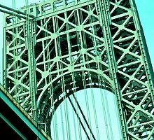 George Washington Bridge, NYC by Jeannette Sheehy