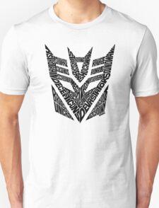 Transformers Decepticons Unisex T-Shirt