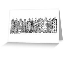 Amsterdam street Greeting Card