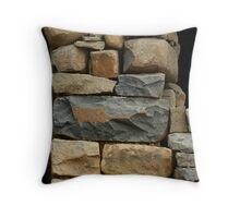 simple stone Throw Pillow