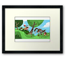 Woodsman Framed Print