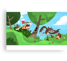 Woodsman Canvas Print