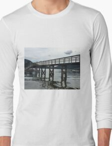 Tranquil Dock 2 - Vancouver, Canada Long Sleeve T-Shirt