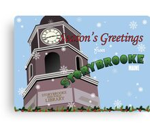 Once Upon a Time - Season's Greeting from Storybrooke Canvas Print