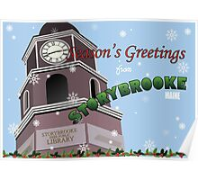 Once Upon a Time - Season's Greeting from Storybrooke Poster