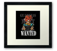 Guardias Most Wanted Framed Print