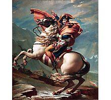 Napoleon Crossing the Alps Photographic Print