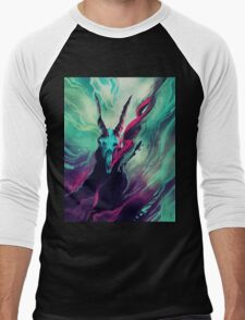 Dissolve  Men's Baseball ¾ T-Shirt