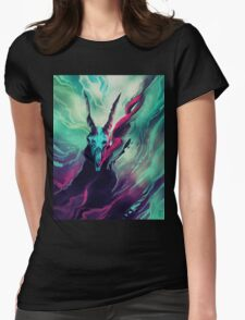 Dissolve  Womens Fitted T-Shirt