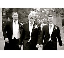 Groomsmen Photographic Print