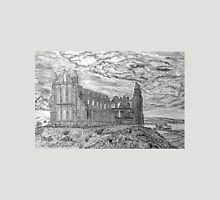 My pencil drawing of Whitby Abbey, Yorkshire Unisex T-Shirt
