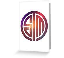 TSM Geometria Dusk Greeting Card