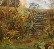 stairs in the park by v0ff