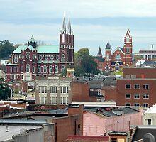 Macon Rooftops by Glenn Grossman