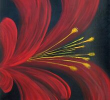 Abstract Open Petal Blossom by terrymulligan