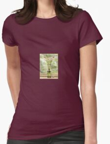 Paper Whites in Sunlight Womens Fitted T-Shirt
