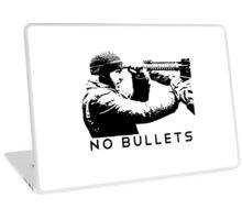 No Bullets Laptop Skin