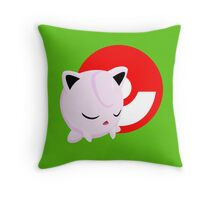 Super Smash Bros Jigglypuff  Throw Pillow