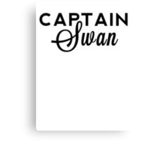 Once Upon a Time - Captain Swan Canvas Print