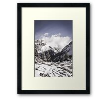 The Mountains  Framed Print