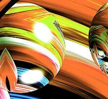 Yarn Art (Orange) by Virginia N. Fred