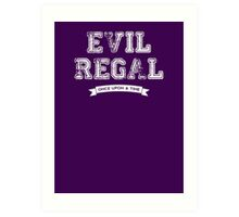 Once Upon a Time - Evil Regal Art Print