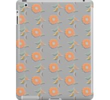 Peach Floral iPad Case/Skin