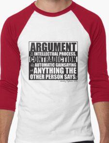Argument Men's Baseball ¾ T-Shirt