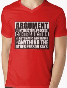 Argument Mens V-Neck T-Shirt