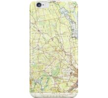 Maine USGS Historical Map Bangor 460142 1946 62500 iPhone Case/Skin