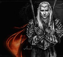 Elven King by JustAnor