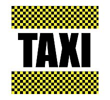 Taxi Cab by AmazingMart
