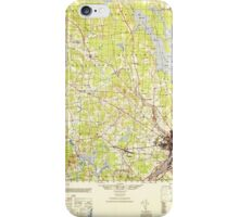 Maine USGS Historical Map Bangor 460143 1946 50000 iPhone Case/Skin