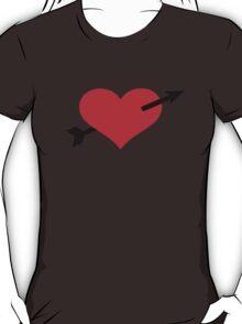 Red heart arrow T-Shirt