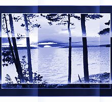 Lake Reflections-Available As Art Prints-Mugs,Cases,Duvets,T Shirts,Stickers,etc by Robert Burns