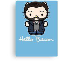 Everyone Loves Bacon Canvas Print