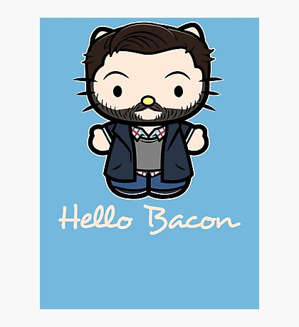 Everyone Loves Bacon Photographic Print