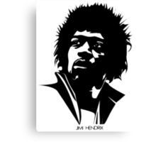 Jimi Hendrix Music Education New Canvas Print