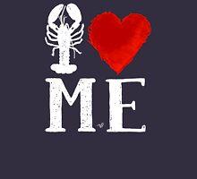 I Heart Maine (remix,wht) by Tai's Tees T-Shirt